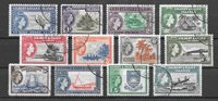 British Colonies 1956 - MICHEL 59-70 - Cancelled