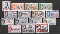 British Colonies 1957 - MICHEL 163-77 - Unused
