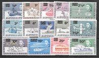 British Colonies 1971 - MICHEL 25-38 - Mint