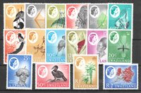 British Colonies 1962 - SG 90-105 - Mint