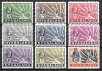 British Colonies 1934 - MICHEL 36-44 - Unused