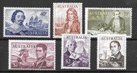 British Colonies 1966 - MICHEL 374-79 - Mint
