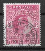 Englanti 1902 - AFA 115 - Leimattu