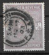 Englanti 1902 - AFA 114 - Leimttutu