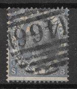 Englanti 1867 - AFA 34 - Leimttutu