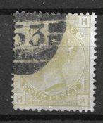 Englanti 1877 - AFA 48 - Leimttutu