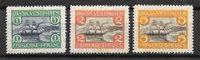 Danish West Indies 1905 - AFA 30 - 32 - Unused