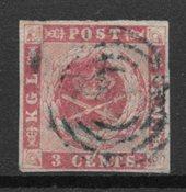 Danish West Indies 1866 - AFA 2 - Cancelled