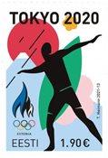 Estland - Olympiske lege Tokyo 2020 - Postfrisk sæt