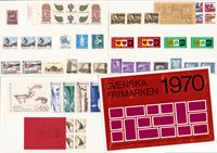 Sverige - Årsmappe 1970 - Postfrisk
