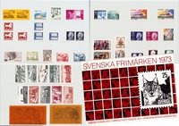 Sweden - Year pack 1973 - Mint
