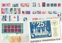 Ruotsi - Vuosilajitelma 1974 - Postituoreena