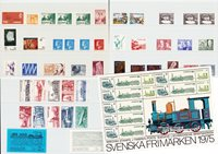 Sweden - Year pack 1975 - Mint