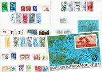 Ruotsi - Vuosilajitelma 1977 - Postituoreena
