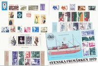 Sweden - Year pack 1979 - Mint