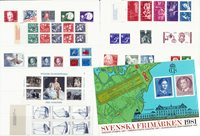 Sweden - Year pack 1981 - Mint