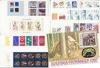 Sverige - Årsmappe 1982 - Postfrisk