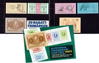 Sweden - Year pack of booklets 1983 - Mint