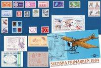 Ruotsi - Vuosilajitelma 1984 - Postituoreena
