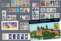 Sweden - Year pack 1987 - Mint