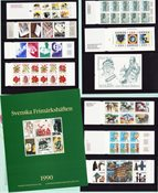 Sweden - Year pack of booklets 1990 - Mint