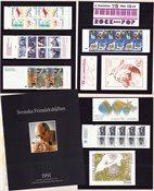 Sverige - Hæfteårsmappe 1991 - Postfrisk