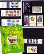 Sverige - Hæfteårsmappe 1999 - Postfrisk
