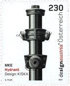 Østrig - Hydrant - Postfrisk frimærke