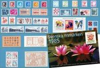 Ruotsi - Vuosilajitelma 1985 - Postituoreena