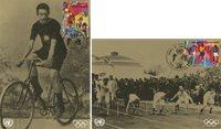 FN Geneve - Olympiske lege - Flot sæt maxikort