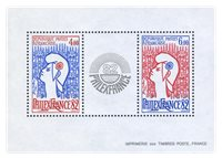 Frankrig - YT 8 - Postfrisk miniark