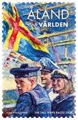 Åland - Tall Ships Races - Postfrisk frimærke