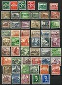 Duitse Rijk - Collectie op 1 insteek kaart - Postfris