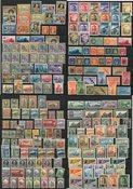 San Marino - Collectie op 6 insteek kaarten
