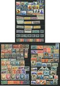 San Marino - Collectie op 3 insteek kaarten