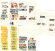 Monaco 1923-1999 - dubbelencollectie in 1 dik stockbook