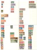 San Marino 1877-1961 - dubbelencollectie in 1 stockbook