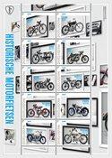 Holland - Klassiske motorcykler - Postfrisk miniark
