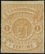 Luxembourg - AFA 3ug - Ubrugt