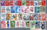 Nordiske lande - 200 forskellige frimærker