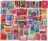 Ungarn - 100 forskellige frimærker
