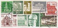 Tyskland / Berlin - 10 forskellige frimærker