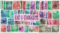 DDR - 100 verschillende postzegels