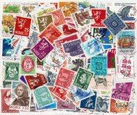 Norge - 200 forskellige frimærker
