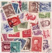 Tjekkoslovakiet - 50 forskellige frimærker