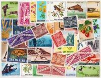 San Marino - 50 verschillende postzegels