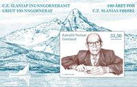 Cz. Slania 100 år - Postfrisk - Miniark