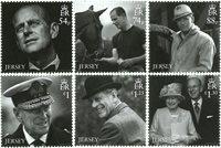 Jersey - Prince Philip in Memoriam - Postfrisk sæt 6v