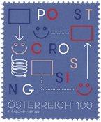 Østrig - Postcrossing - Postfrisk frimærke