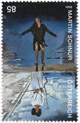 Østrig - Martin Schnur samtidskunstner - Postfrisk frimærke